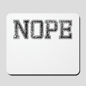 NOPE, Vintage Mousepad