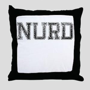 NURD, Vintage Throw Pillow