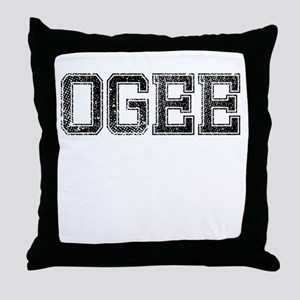 OGEE, Vintage Throw Pillow