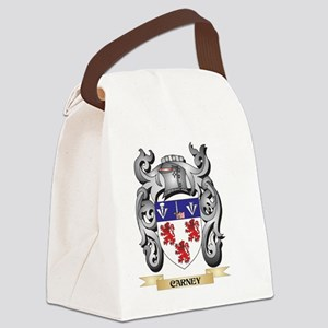 Carney Family Crest - Carney Coat Canvas Lunch Bag