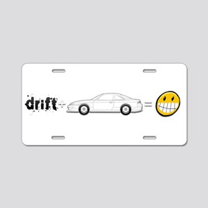 Drift and S14 is fun Aluminum License Plate
