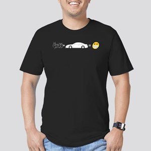 Drift and S14 is fun Men's Fitted T-Shirt (dark)