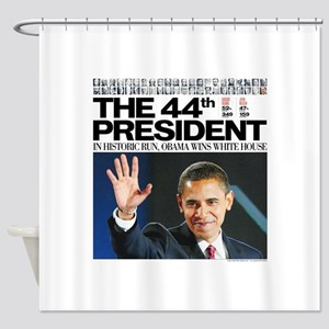 44th President Shower Curtain