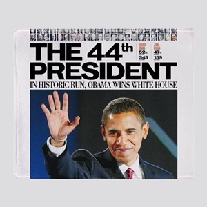 44th President Throw Blanket