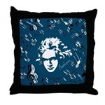 Beethoven Classical Music Gift Throw Pillow