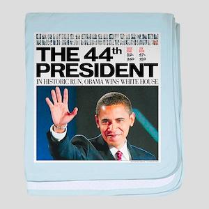 44th President baby blanket
