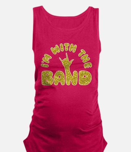 I'M WITH THE BAND Tank Top