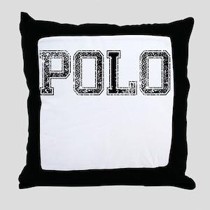 POLO, Vintage Throw Pillow