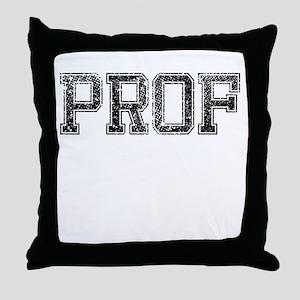 PROF, Vintage Throw Pillow