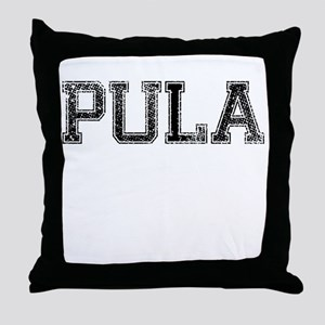 PULA, Vintage Throw Pillow