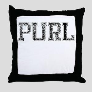 PURL, Vintage Throw Pillow