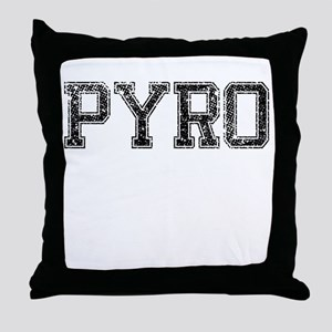 PYRO, Vintage Throw Pillow