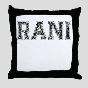 RANI, Vintage Throw Pillow