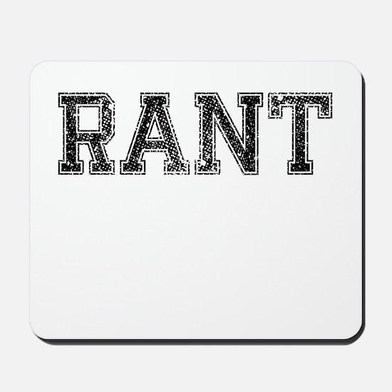 RANT, Vintage Mousepad