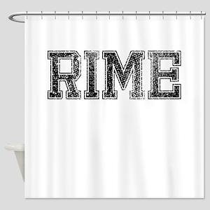 RIME, Vintage Shower Curtain