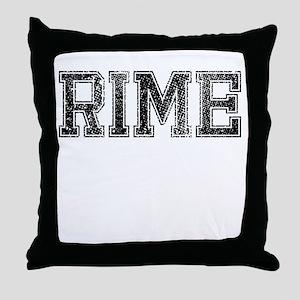 RIME, Vintage Throw Pillow