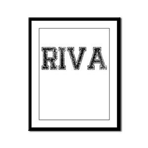 RIVA, Vintage Framed Panel Print