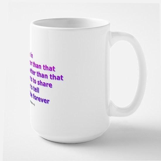 Voices - Not Bodies Large Mug