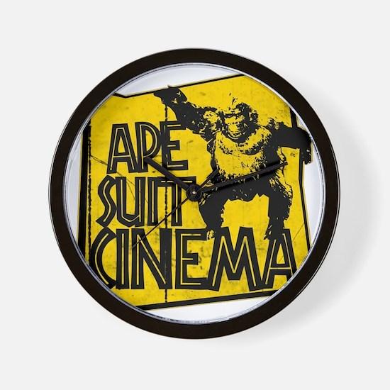 Official Ape Suit Cinema Logo Wall Clock