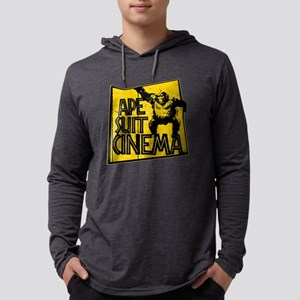 Official Ape Suit Cinema Logo Mens Hooded Shirt