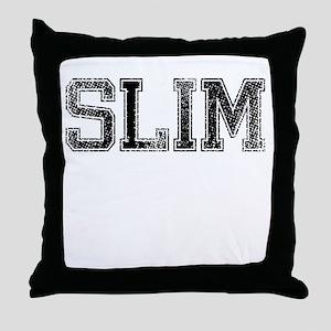 SLIM, Vintage Throw Pillow
