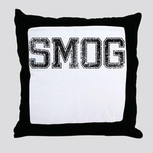 SMOG, Vintage Throw Pillow