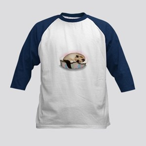Ragdoll Cat Kids Baseball Jersey