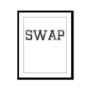 SWAP, Vintage Framed Panel Print