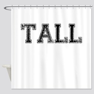 TALL, Vintage Shower Curtain