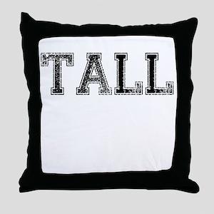 TALL, Vintage Throw Pillow