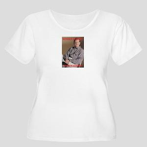 winner winner Women's Plus Size Scoop Neck T-Shirt