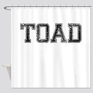 TOAD, Vintage Shower Curtain