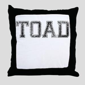 TOAD, Vintage Throw Pillow
