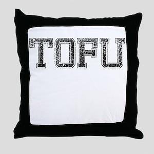 TOFU, Vintage Throw Pillow