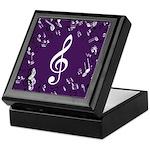 Treble Clef Music Gift Keepsake Box
