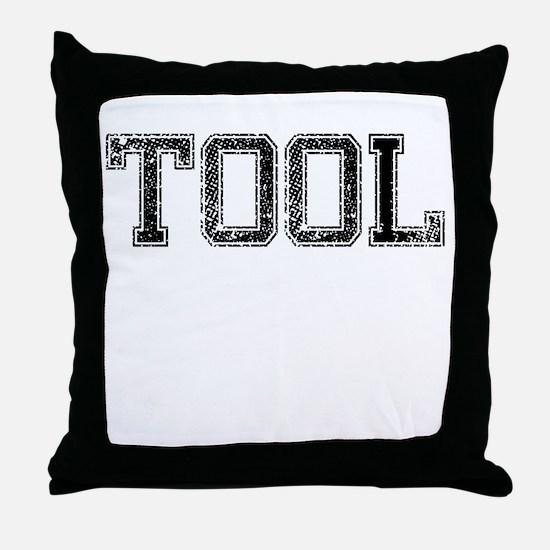 TOOL, Vintage Throw Pillow