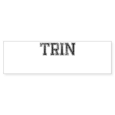 TRIN, Vintage Sticker (Bumper)