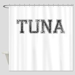 TUNA, Vintage Shower Curtain