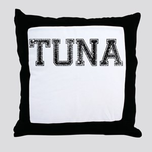TUNA, Vintage Throw Pillow