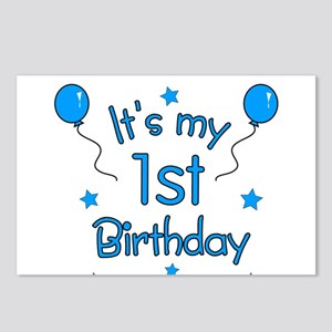 It's my 1st Birthday Postcards (Package of 8)