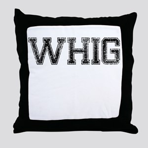 WHIG, Vintage Throw Pillow