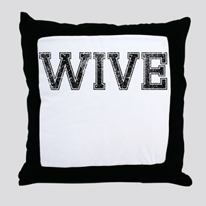 WIVE, Vintage Throw Pillow