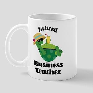 Retired Business Teacher Gift Mug