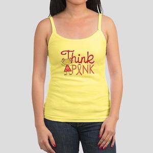 Think Pink Jr. Spaghetti Tank