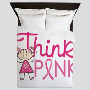 Think Pink Queen Duvet