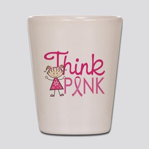 Think Pink Shot Glass