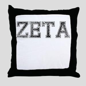 ZETA, Vintage Throw Pillow