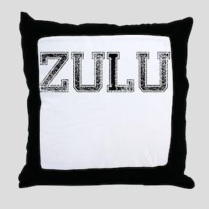 ZULU, Vintage Throw Pillow