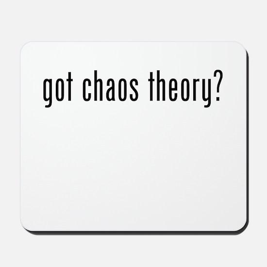 Got Chaos Theory? Mousepad