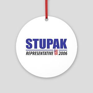 Stupak 2006 Ornament (Round)